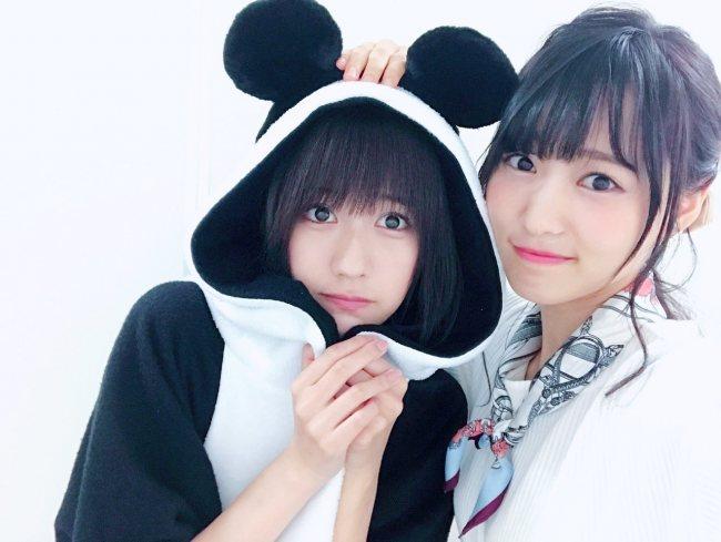 土生瑞穂と菅井友香