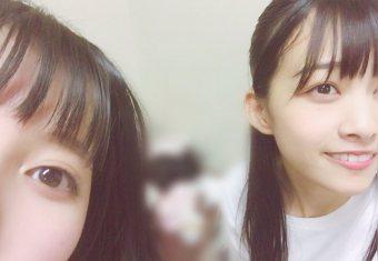 原田葵と上村莉菜