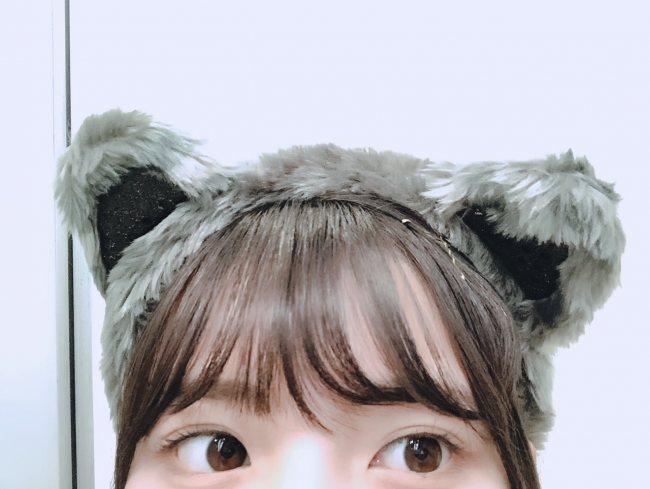 河田陽菜、個握5部で披露したネコのコスプレオフショットを公開!