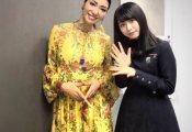 【欅坂46】アンミカさん『何枚撮っても驚異の透明感と、どの角度から見ても可愛い顔』長濱ねるとの2ショットを公開!