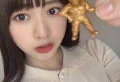 富田鈴花、念願のキン肉マンフィギュアを手に入れる!