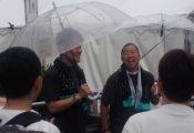 土田晃之さん、澤部佑さんが『けやかけ』収録をしている模様【夏の全国アリーナツアー2019】
