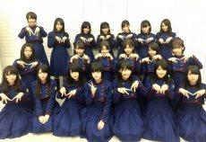 【欅坂46】Mステ出演前の集合写真、今泉佑唯の場所だけ空いてるの泣けるな。上村莉菜もあえてポーズをとってないな…
