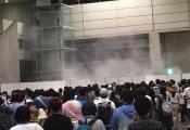 【欅坂46】平手友梨奈・柿崎芽実レーンで発煙筒を焚きボヤ騒ぎ。現場の犯人は現在取り押さえられ連行された模様
