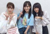 【欅坂46】山本彩がNMB48のライブを見に来ていた齋藤冬優花と長濱ねるとの3ショットを公開!この3ショットは貴重だなww