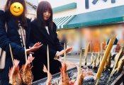 【欅坂46】菅井友香嬢、ご家族と新潟へご訪問 日本酒を試飲される