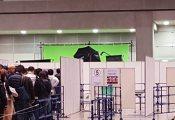 【欅坂46】なにかの撮影中? 本日開催中の個別握手会、握手レーンの裏側に大きな撮影ブースが設置【6th個別握手会@東京ビッグサイト】